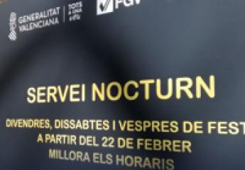 El metro nocturno de València supera los 155.000 usuarios en seis meses