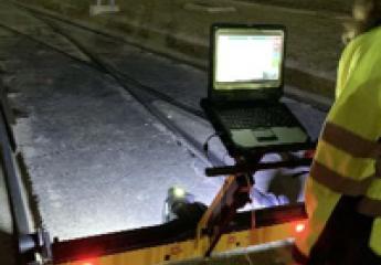 El metro de Sevilla utiliza tecnología láser para detectar averías en línea