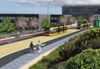 La MetroGuagua de Las Palmas de Gran Canaria se muestra en 2019
