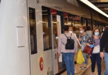 Metrovalencia y Tram d'Alacant incorporan auxiliares para controlar el cumplimiento de las medidas frente al coronavirus