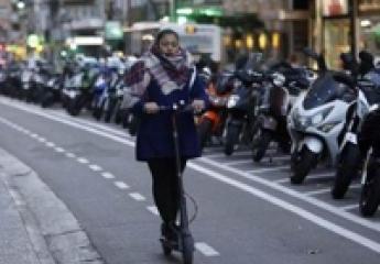 La movilidad en patinetes eléctricos llega al 16,6 % en los carriles bici de Zaragoza
