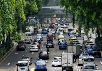 Ni un coche más en Singapur