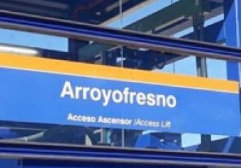 La nueva estación de Arroyofresno de Metro de Madrid recibe a sus primeros viajeros