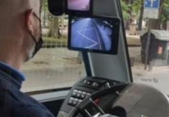 El nuevo BRT de Vitoria-Gasteiz tendrá varias cámaras para evitar los ángulos muertos