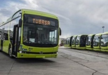 Los nuevos autobuses eléctricos de Badajoz comienzan a circular