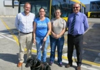 Las Palmas de Gran Canaria: Guaguas admitirá perros de hasta siete kilos
