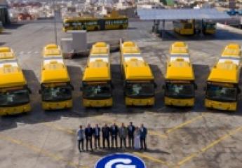 Las Palmas de Gran Canaria: Guaguas se encuentra inmersa en el programa de renovación de flota más ambicioso de la última década