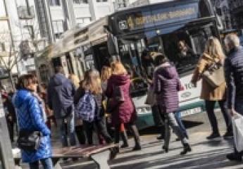 Pamplona elabora un plan para mejorar la velocidad comercial de los autobuses