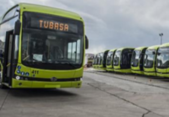 Los quince autobuses eléctricos de Tubasa empezarán a cricular este mes por Badajoz