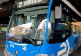 Todos los autobuses de EMT Madrid ya permiten el pago con tarjeta o móvil