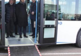 Salamanca estrena doce nuevos autobuses con los últimos avances tecnológicos