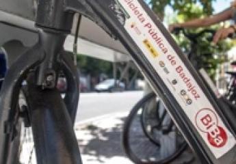 Seis bases más y 75 bicicletas nuevas para el servicio de alquiler de Badajoz