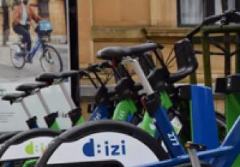 El sistema de alquiler de bicicletas Dbizi de San Sebastián comienza a funcionar con 46 estaciones