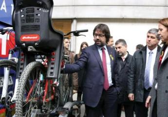 El autobús Girona-Sant Feliu estrenará un sistema de portabicicletas