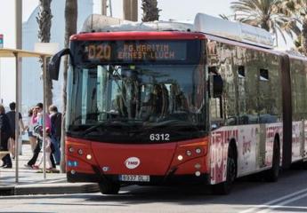 TMB termina el despliegue de la red ortogonal de bus de Barcelona