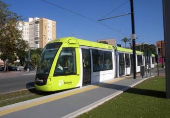 El tranvía de Murcia bate su récord de viajeros en octubre con más de 600.000 usuarios