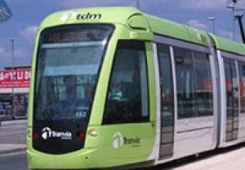 El tranvía de Murcia obtiene sello que reconoce su reducción de emisiones