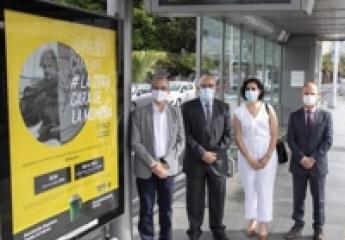 El tranvía de Tenerife sensibilizará sobre el aumento de la pobreza entre los afectados por cáncer