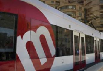 El tranvía de València cumple 25 años