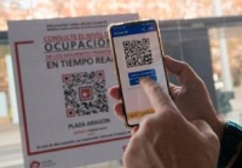 El tranvía de Zaragoza informará de la ocupación en tiempo real a través de códigos QR