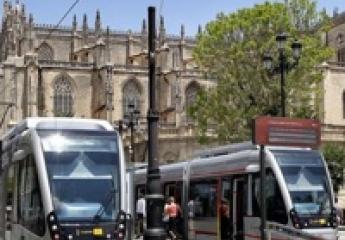 Tussam implanta en el tranvía de Sevilla un sistema para mejorar la gestión de incidencias