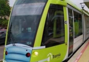 Los usuarios del tranvía de Murcia le ponen una nota de 8,7