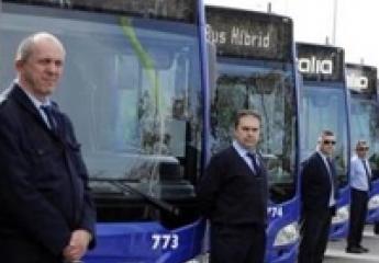 Vectalia presenta en la Cumbre Mundial del Clima su flota de autobuses sostenibles