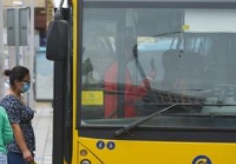 Los Vehículos de Guaguas Municipales, de Las Palmas de Gran Canaria, seguros frente a la covid
