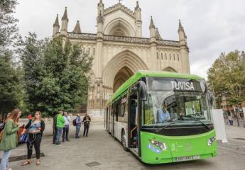 Vitoria-Gasteiz estrena sus primeros autobuses híbridos