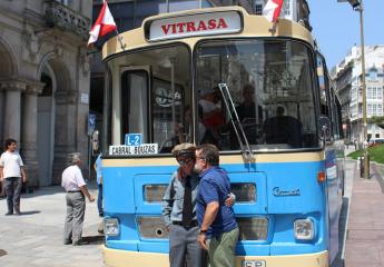 Vitrasa cumple 50 años en las calles de Vigo