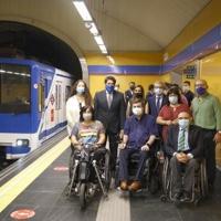 El 82% de la red de Metro de Madrid será accesible en los próximos años
