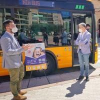 Los autobuses metropolitanos de Valencia estrenan billete sencillo QR