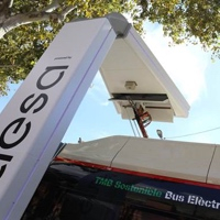Barcelona contará con dos nuevos pantógrafos para la recarga de autobuses eléctricos