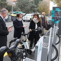 BiciMAD (Madrid) inaugura cuatro nuevas estaciones con un