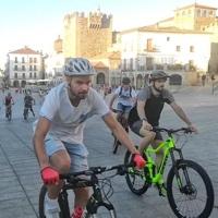 Las bicis de alquiler preparan su vuelta en Cáceres