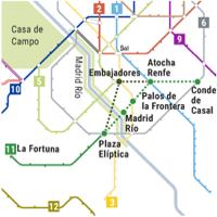 Concluye el estudio para la ampliación de la línea 11 del metro de Madrid