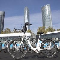 EMT Madrid y otras cinco empresas piden autorización para desplegar 8.200 bicicletas sin base fija