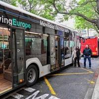 EMT València prueba en diferentes líneas un nuevo autobús eléctrico