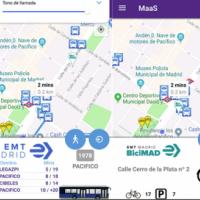 EMT Madrid desarrolla una app sobre transporte multimodal
