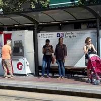 FGV instalará un nuevo sistema de información en las paradas del tranvía de València