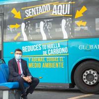 Global pone en valor los beneficios del uso del transporte público en Gran Canaria