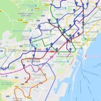 Google Maps ofrece predicciones de afluencia en el transporte público