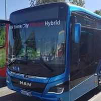 Granada: Transportes Rober prueba un autobús híbrido