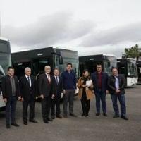 Málaga contará con cinco nuevos megabuses que se unen a los diez que ya circulan