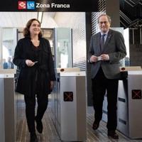 El metro de Barcelona llega a la Zona Franca