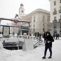 Metro de Madrid mantuvo servicio ininterrumpido durante una semana por el temporal