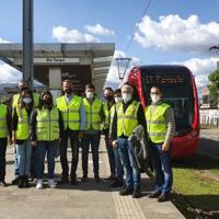 Metrotenerife coordina la puesta en marcha del primer tranvía de Ecuador