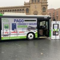 Los nuevos medios de pago en Auvasa se extienden a todas las líneas de autobús de Valladolid