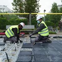 Un pavimento solar abastecerá de electricidad sostenible una estación de Bicing