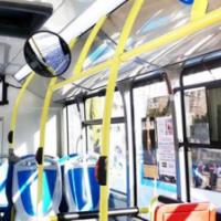 Segovia muestra televisión 4K en un autobús urbano